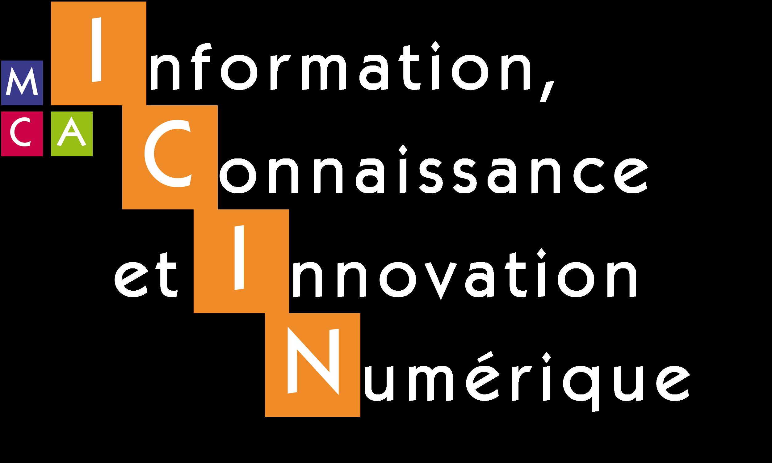 Information, Connaissance et Innovation Numérique